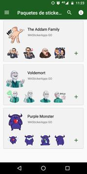 💀 WAStickerApps - Horror and Fear screenshot 1