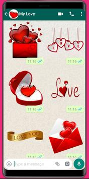 WAStickerApps Love❤️Love Sticker and amor stickers poster