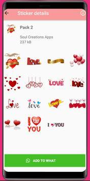 WAStickerApps Love❤️Love Sticker and amor stickers screenshot 4