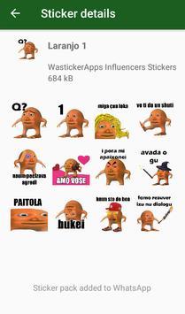 WAstickerApps Laranjo Memes Adesivos poster