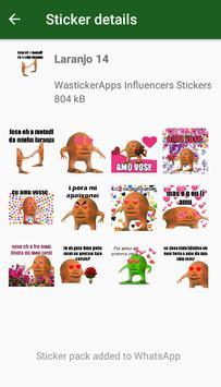 WAstickerApps Laranjo Memes Adesivos screenshot 5