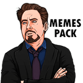 😂 WAStickerApps - Memes Troll icon