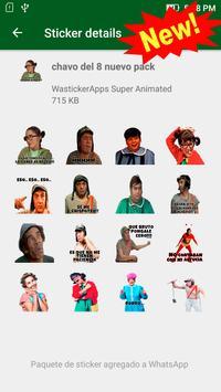 🇲🇽 Stickers Animados Graciosos Memes Mexico 2021 screenshot 4