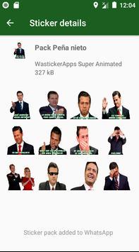 🇲🇽 Stickers Animados Graciosos Memes Mexico 2021 screenshot 2
