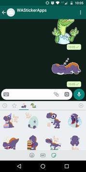 🐉 WAStickerApps - Динозавры скриншот 3