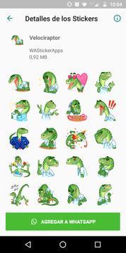 🐉 WAStickerApps - Динозавры скриншот 1