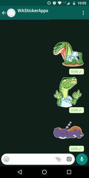 🐉 WAStickerApps - Динозавры скриншот 2