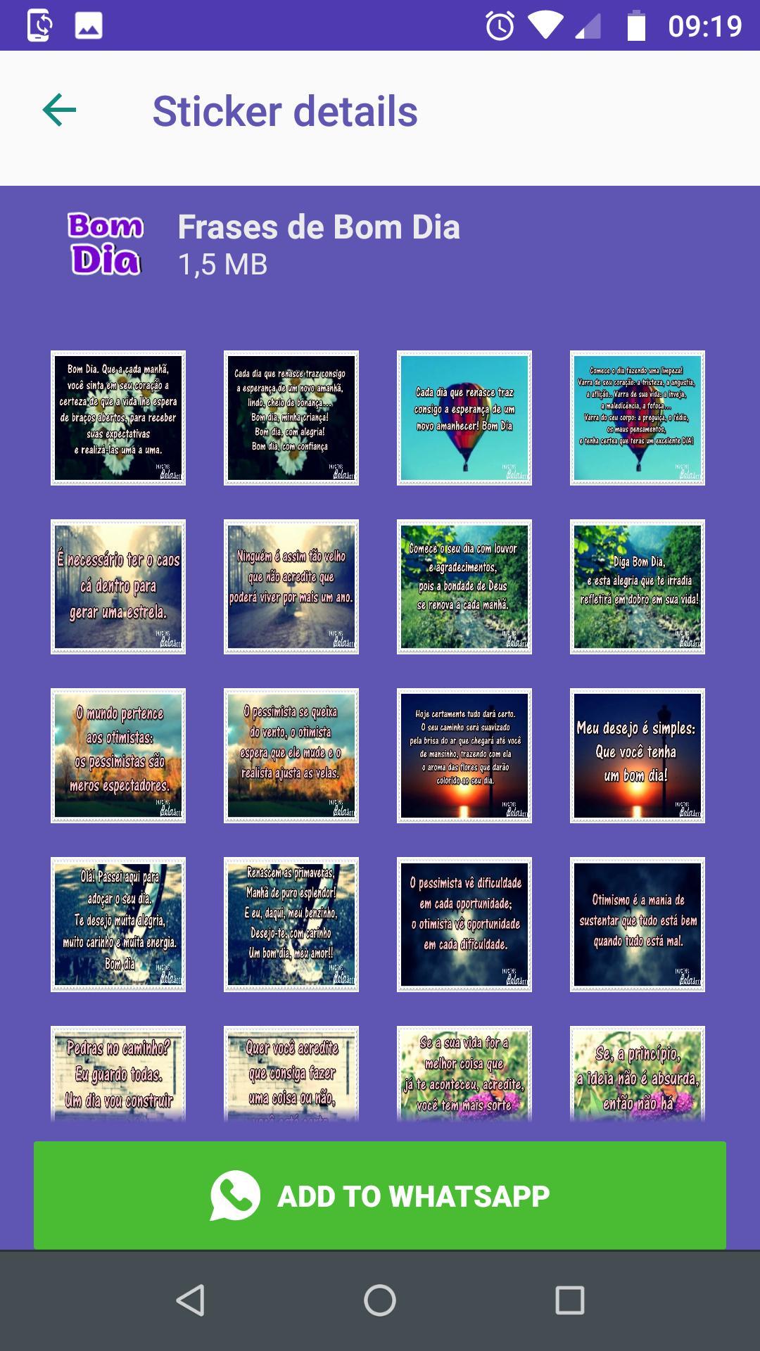 Frases De Figurinhas De Bom Dia For Android Apk Download
