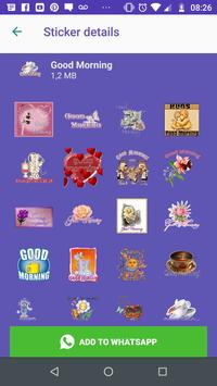 WAStickers- Good Morning, and Night Stickers screenshot 6