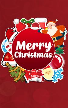 WAStickers- Stickers Merry Christmas poster