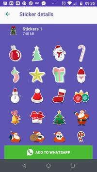 WAStickers- Stickers Merry Christmas screenshot 3
