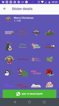 WAStickers- Stickers Merry Christmas screenshot 4