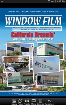 Window Film Magazine poster