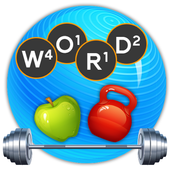 Word Fitness – Swipe The Letters Word Game icon