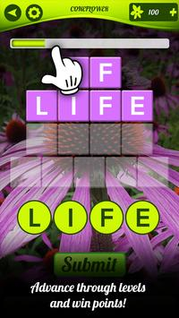 Word Flora – Word Puzzle Games to Connect Letters screenshot 1