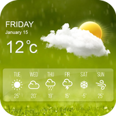 Live Weather App Weather Forecast & Weather Radar icon