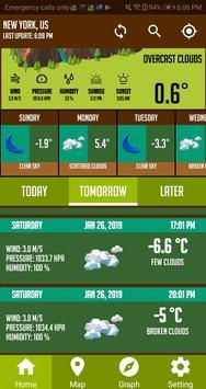 Live Weather App Weather Forecast & Weather Radar screenshot 4
