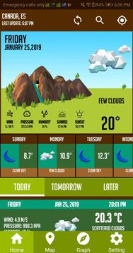Live Weather App Weather Forecast & Weather Radar screenshot 3