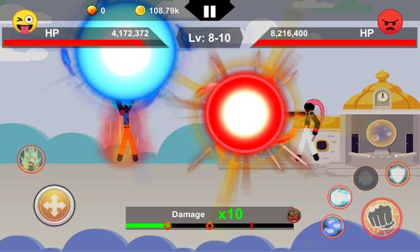 Stick Z Dragon : Super Screenshot 1