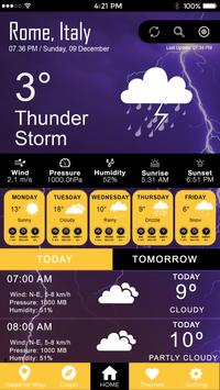 Todays Weather, Weather Today & Tomorrow Forecast screenshot 3