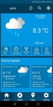 Live Weather Update Free Weather Forecast App 2019 screenshot 1