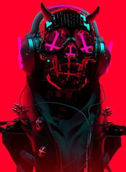 Cyber Punk Wallpaper poster