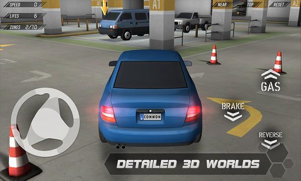 Parking Reloaded 3D plakat