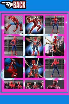 Warrior Spider Hero Man Puzzles screenshot 1