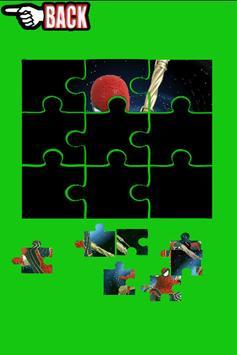 Warrior Spider Hero Man Puzzles screenshot 2