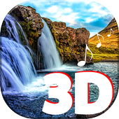3d Waterfall Live Wallpaper With Sound For Android Apk