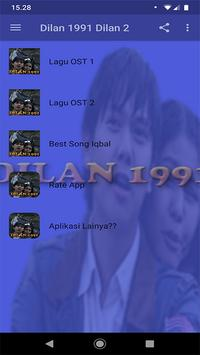 Ost Dilan 1991 Offline (Dilan 2) poster
