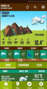 Weather Live Pro screenshot 1