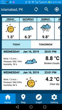 Weather Report 2019 Free Weather Forecast App screenshot 6