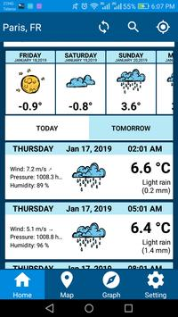 Weather Report 2019 Free Weather Forecast App screenshot 7