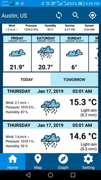 Weather Report 2019 Free Weather Forecast App screenshot 1