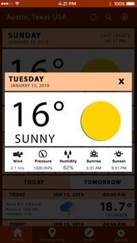 Weather Tomorrow Weather Channel Todays Weather screenshot 2