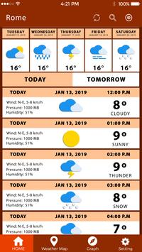 Weather Tomorrow Weather Channel Todays Weather screenshot 5