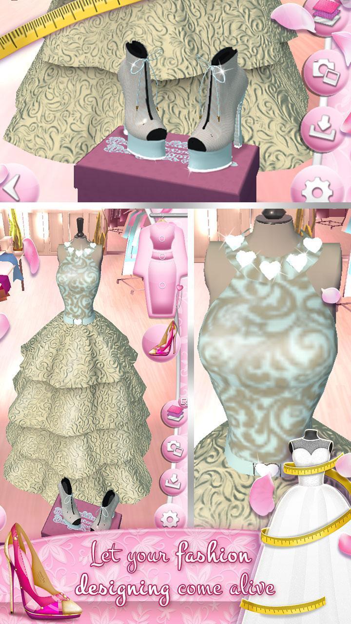 Juegos De Diseñar Vestidos De Novia Y Zapatos For Android
