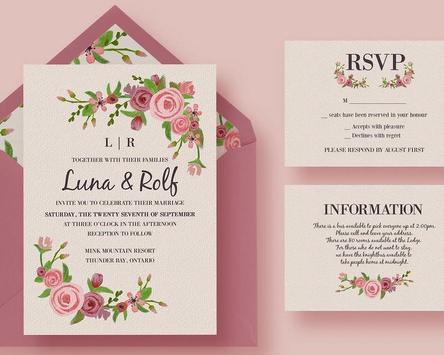 Wedding Invitation screenshot 4