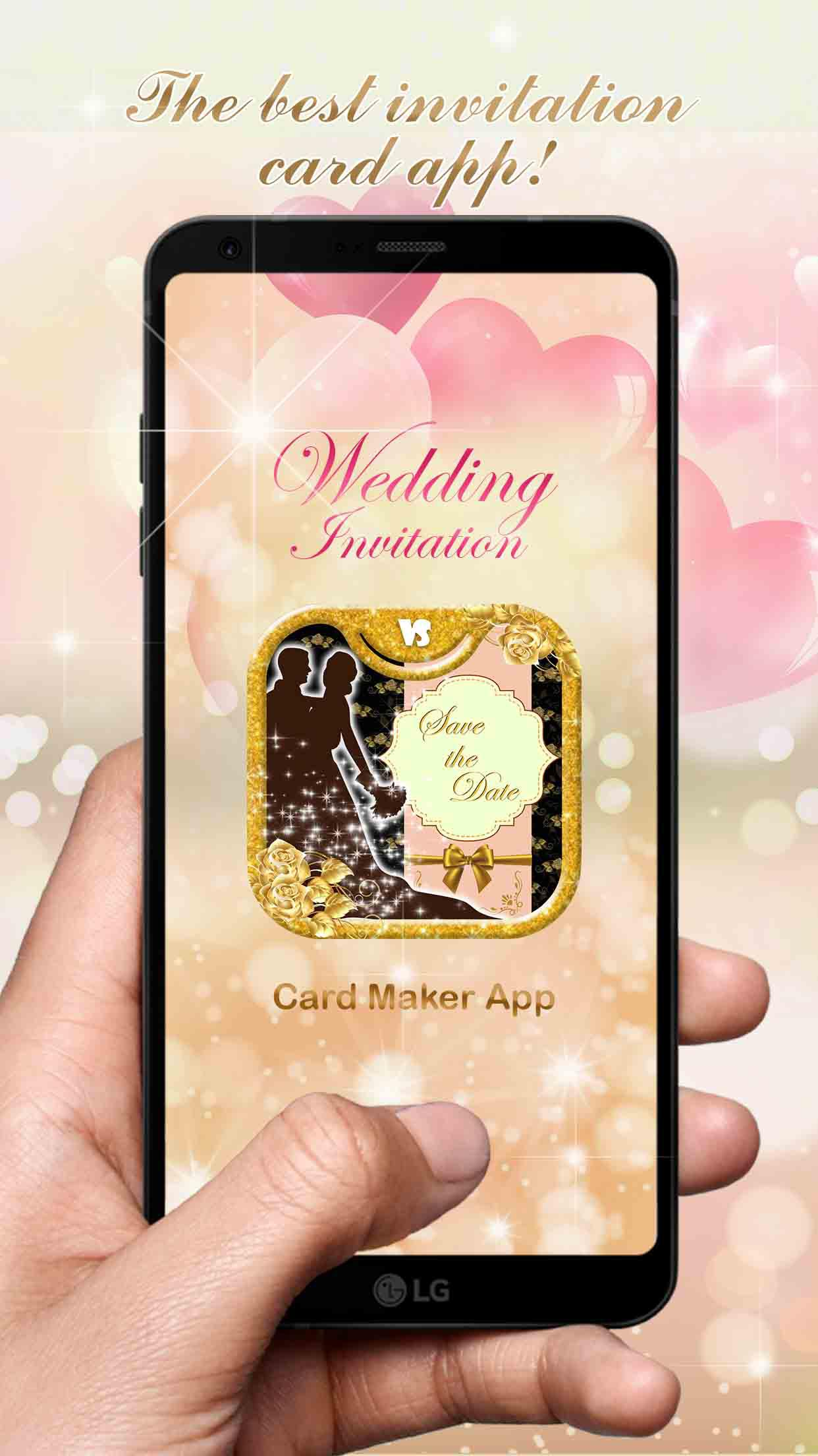 Wedding Invitation Card Maker App For Android Apk Download