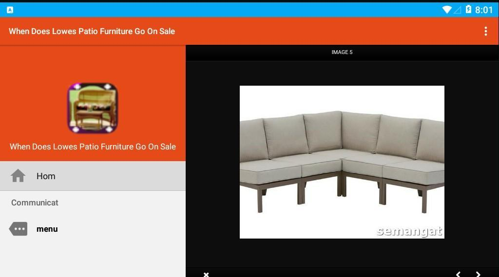 When Does Lowes Patio Furniture Go On Sale for Android - APK Download
