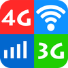 WiFi, 5G, 4G, 3G Speed Test - Speed Check, Cleaner ícone