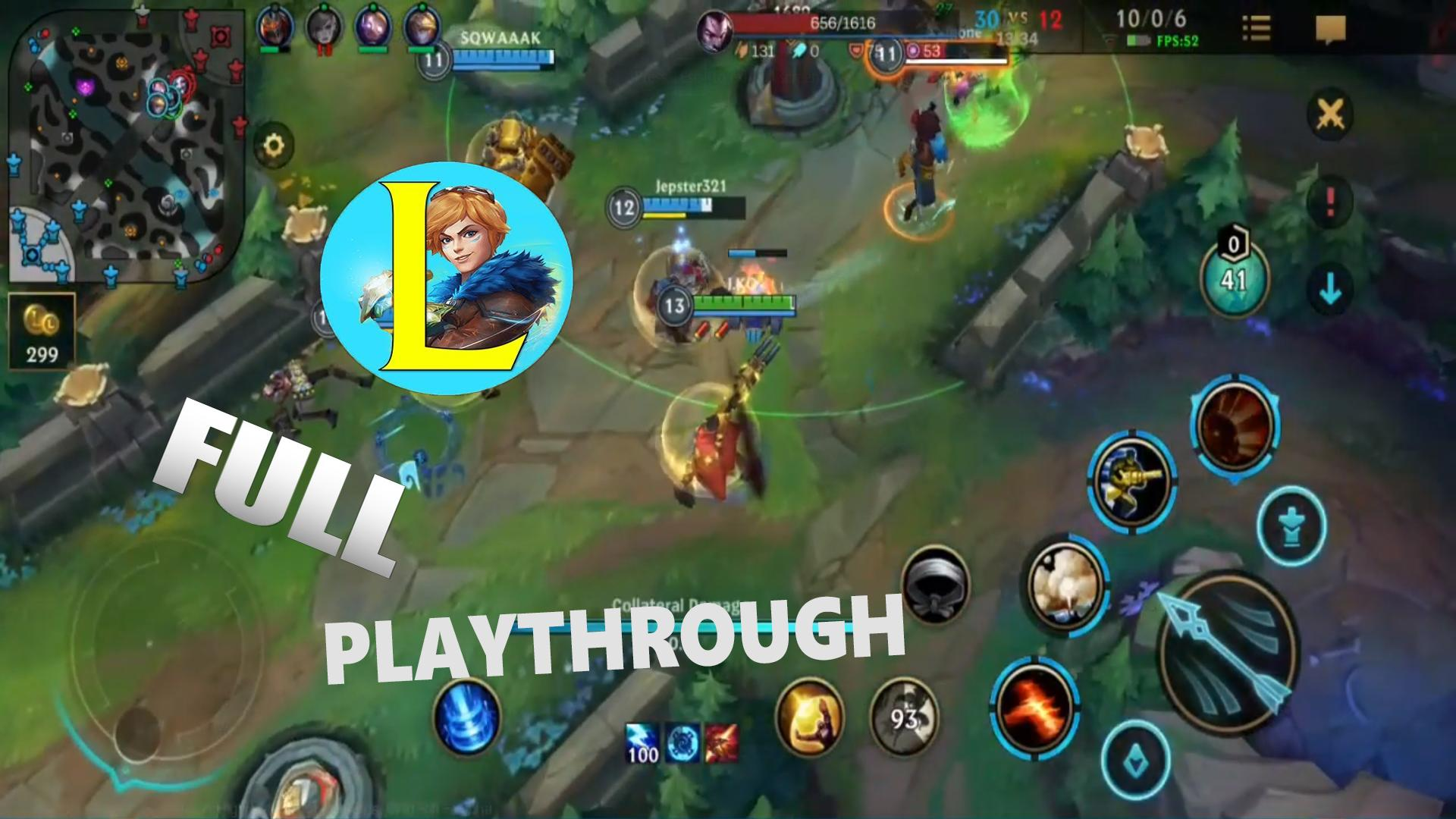 Lol Wild Rift Mobile 2020 Playthrough For Android Apk Download