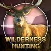 Caza en la naturaleza: juego de disparar presas icono