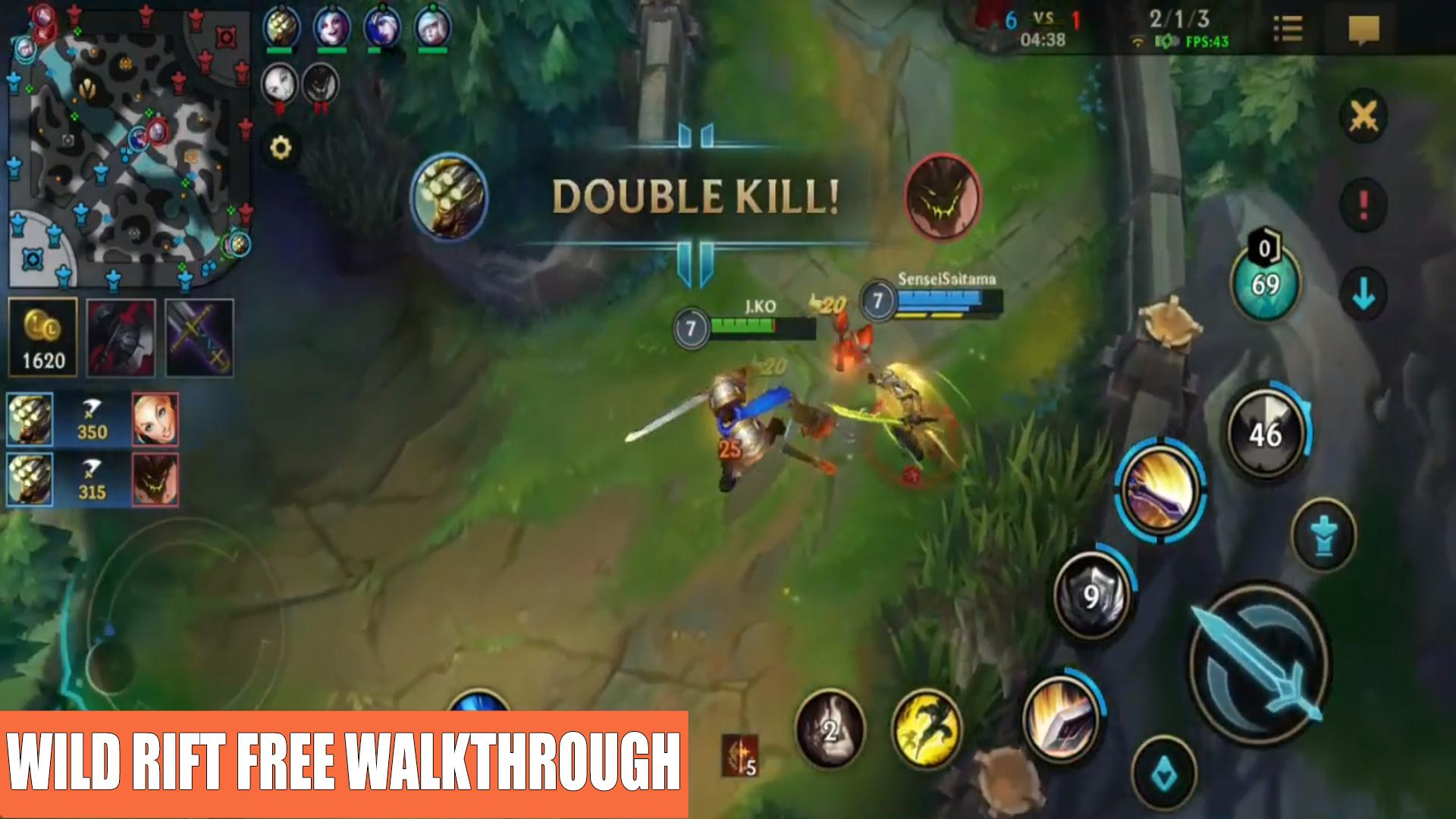 Lol Wild Rift Mode Free Walkthrough For Android Apk Download
