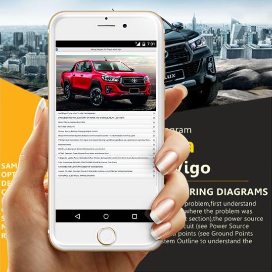 Wiring Diagram For Toyota Hilux Vigo pour Android ... on