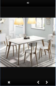 Wooden Dining Table Design screenshot 7