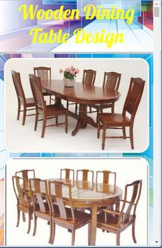 Wooden Dining Table Design screenshot 4