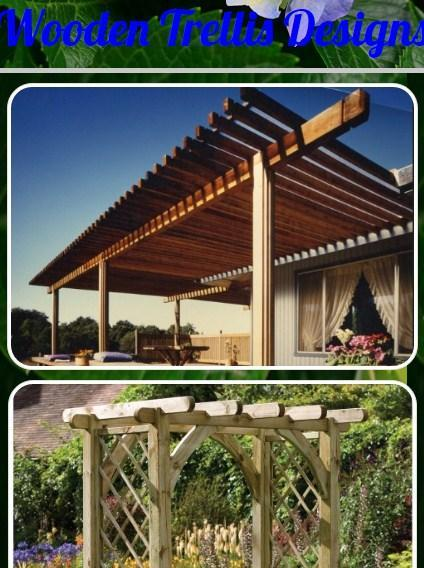 Wooden Trellis Designs For Android Apk Download