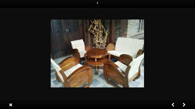 Wooden chair design screenshot 2